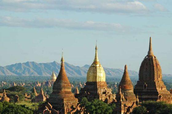 Rundrejser tilbud, flot udsigt over myanmar