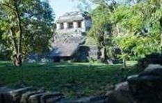 Rejse til mexico, gammelt tempel