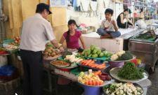 Rejse til Vietnam, mad marked